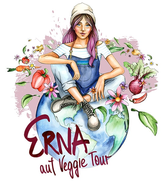 ERNA on Veggie Tour