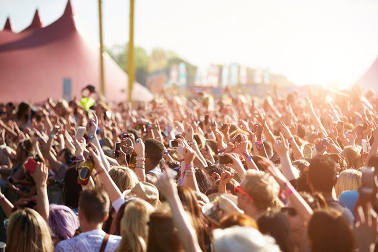 Tolles Festival Feeling (Beispielbild)